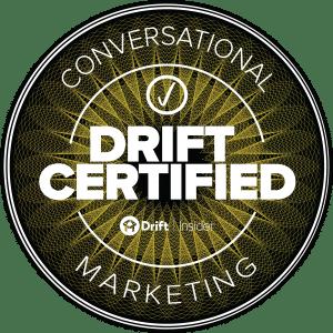 drift conversational marketing certified professional